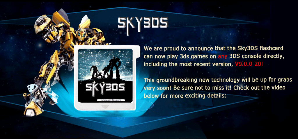 Buy Sky3DS cards